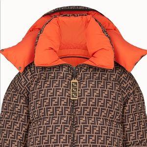 Fendi Down Winter Hooded Coat S NOT 4 $ale 🔥